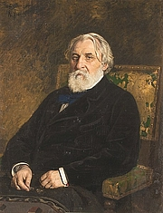 Photo de l'auteur(-trice). Portrait by Ilya Repin (1874)