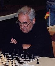Kirjailijan kuva. Mark Taimanov, 1996