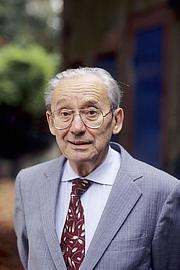 Forfatter foto. Le philosophe Paul Ricœur, en 1995