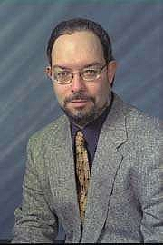 Forfatter foto. Bill Slavicsek in 80's.