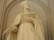 Fotografia de autor. Detail from Spee Memorial, Jesuitenkirche, Trier, Germany.