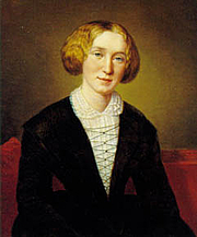 Photo de l'auteur(-trice). George Eliot at 30 by François D'Albert Durade