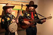 Författarporträtt. Mark Gardner (left) and Rex Rideout