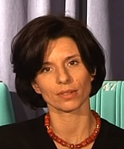 Author photo. Melissa Müller in 2004