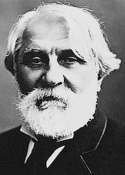 "Författarporträtt. From <a href=""http://en.wikipedia.org/wiki/Image:IvanTurgenev.jpeg"">Wikimedia Commons</a>, Félix NADAR."