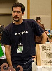 Kirjailijan kuva. Stumptown Comics Fest 2006, photo by Joshin Yamada