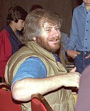 Kirjailijan kuva. Minneapolis Comic Con 1982, photo by Alan Light