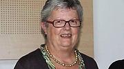 Kirjailijan kuva. Françoise Péron en 2015, en tant que candidate PS au conseil général