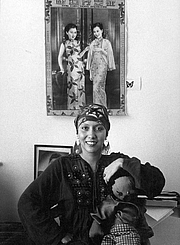 """Author photo. Author Jessica Hagedorn in San Francisco, California 1975. By Nancy Wong, CC BY-SA 3.0, <a href=""""https://commons.wikimedia.org/w/index.php?curid=26352651"""" rel=""""nofollow"""" target=""""_top"""">https://commons.wikimedia.org/w/index.php?curid=26352651</a>"""