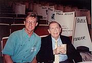 Foto de l'autor. Milton Berle (Right) ~ Photo by Alan Light, 1989 (Flickr)