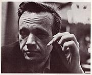 Författarporträtt. Photograph of Wallace Wood taken by Bhob Stewart.