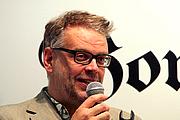 Forfatter foto. Hans Rosenfeldt at the Swedish Book fair 2001 in Gothenburg (by Fluff)