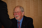Photo de l'auteur(-trice). Michael Korda. Photo courtesy Darien Library.
