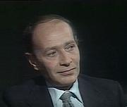 Foto do autor. Jean Bourdier le 10 octobre 1976 lors de l'émission TV 'L'homme en question'
