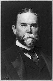Foto auteur. John Hay, c 1897 (Library of Congress)