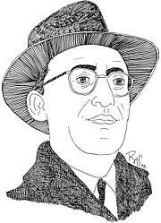Forfatter foto. Saul David Alinsky, 1909-1972. © 2006 The Better World Project