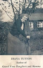 Kirjailijan kuva. Diana Tutton