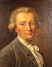 Forfatter foto. Portrait of Georg Forster by Johann Heinrich Wilhelm Tischbein (1751-1829), from Wikimedia Commons