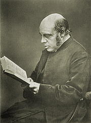 Author photo. Joseph Barber Lightfoot as portrayed in the anonymous, late nineteenth century biography called <i>Bishop Lightfoot</i>.