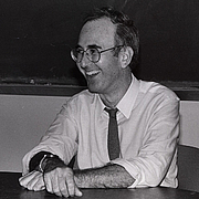 Author photo. Phillip Lopate. UH Photographs Collection.