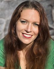 Författarporträtt. Anna-Marie Abell, Author