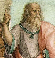 Photo de l'auteur(-trice). http://commons.wikimedia.org/wiki/File:Plato-raphael.jpg