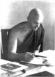 Foto del autor. Bhikkhu Ñāṇamoli