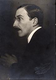"""Foto del autor. Franz Löwy (1920) © <a href=""""http://www.bildarchiv.at/"""">ÖNB/Wien</a> (Pf 4066 : C 1)"""