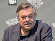"""Kirjailijan kuva. Der slowenische Schriftsteller Jančar auf der Wiener Buchmesse 2019. By Bwag - Own work, CC BY-SA 4.0, <a href=""""https://commons.wikimedia.org/w/index.php?curid=83761131"""" rel=""""nofollow"""" target=""""_top"""">https://commons.wikimedia.org/w/index.php?curid=83761131</a>"""