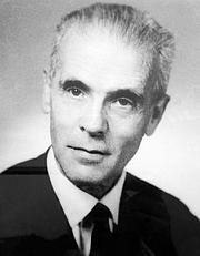 Forfatter foto. Philippe Dollinger (1904-1998). Professeur d'histoire de l'Alsace à l'Université de Strasbourg (1945-1974)