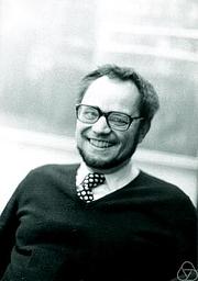 Författarporträtt. Benno Artmann. Photo by Konrad Jacobs.
