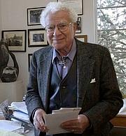 Author photo. Murray Gell-Mann in 2003.
