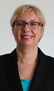 Forfatter foto. Antje Schrupp, 2014
