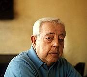 Author photo. Jacques Prévert on November 22, 1973, in France