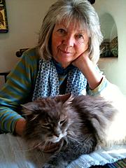 Foto del autor. Edith Schreiber-Wicke