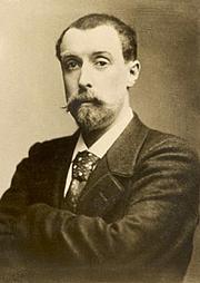 Foto do autor. Alphonse Allais, 1893