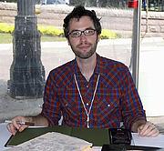 Fotografia de autor. Credit: Larry D. Moore, 2007 Texas Book Festival, Austin, Texas