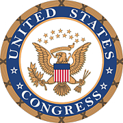 Foto do autor. Seal of the U.S. Congress