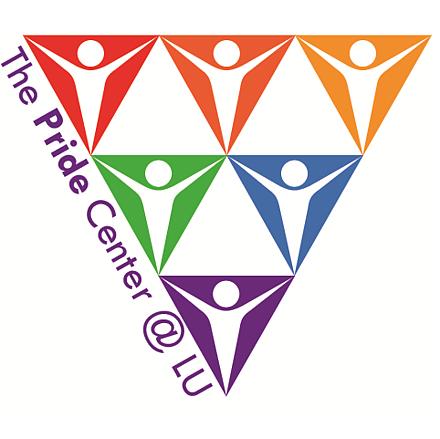 LU pride center logo