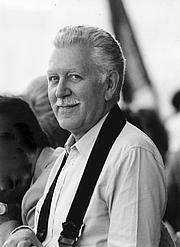Foto do autor. André Chastel en 1978 à Venise