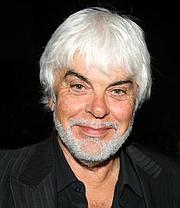 Forfatter foto. Valerio Massimo Manfredi (1943-), Italian writer and archaeologist.