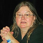 Foto del autor. Credit: David Shankbone, Brooklyn Book Festival, Sept. 14, 2008