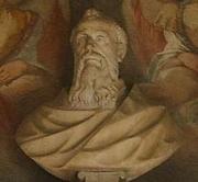 Foto do autor. Saint Peter Damian / Bust of Peter Damian. Santa Maria degli Angeli, Florence.