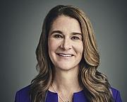 Author photo. Melinda French Gates, Co-chair and Trustee of the Bill & Melinda Gates Foundation