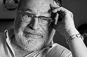 Author photo. Portrait of Spanish philosopher Fernando Savater for the magazine Jot Down