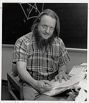 Forfatter foto. Prof. John Horton Conway. Photo by Robert P. Matthews, 1987 (courtesy of Princeton University)