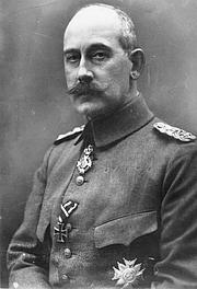 Foto del autor. Wikipedia, Baden, Max von: 1867-1929, Generalmajor, Reichskanzler, Ministerpräsident von Preußen, Deutschland in 1914