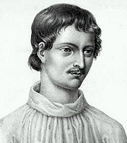 """Forfatter foto. From <a href=""""http://commons.wikimedia.org/wiki/Image:Giordano_Bruno.jpg"""">Wikimedia Commons</a>"""