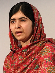 Foto do autor. Malala Yousafzai [By Russell Watkins/Department for International Development.]