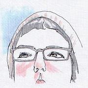Foto do autor. Jen Corace/self-portrait